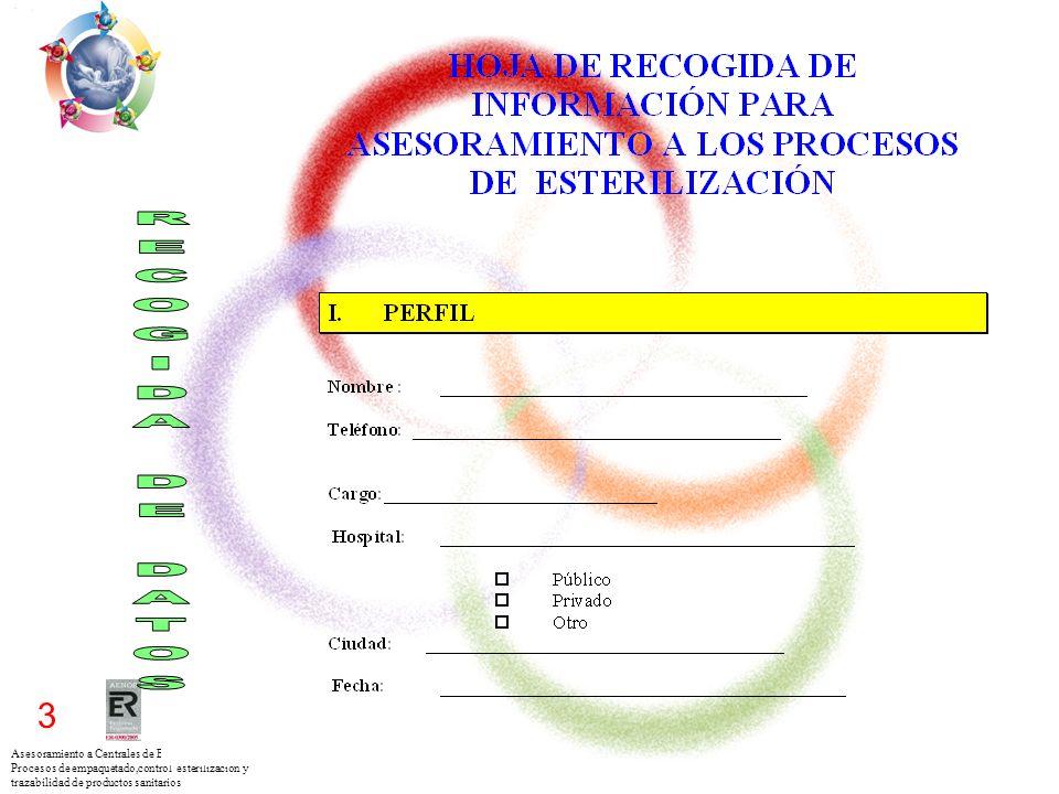 Asesoramiento a Centrales de Esterilización para los Procesos de empaquetado,control esterilización y trazabilidad de productos sanitarios 3