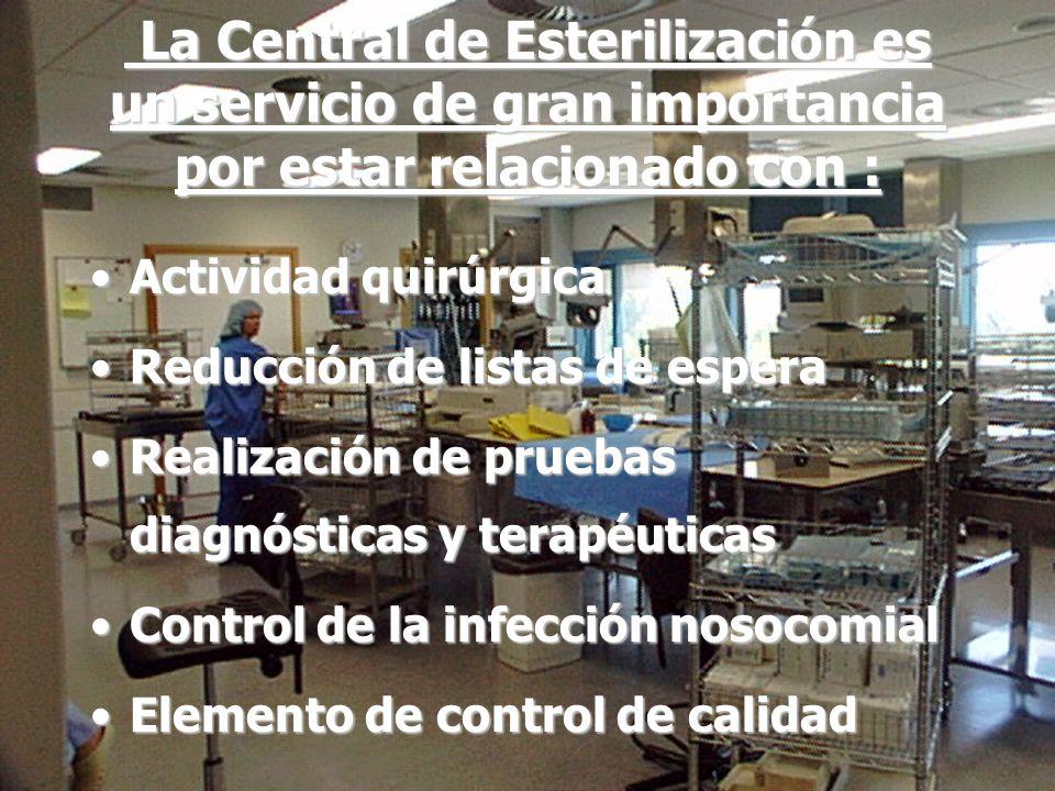 Asesoramiento a Centrales de Esterilización para los Procesos de empaquetado,control esterilización y trazabilidad de productos sanitarios 3 La Centra