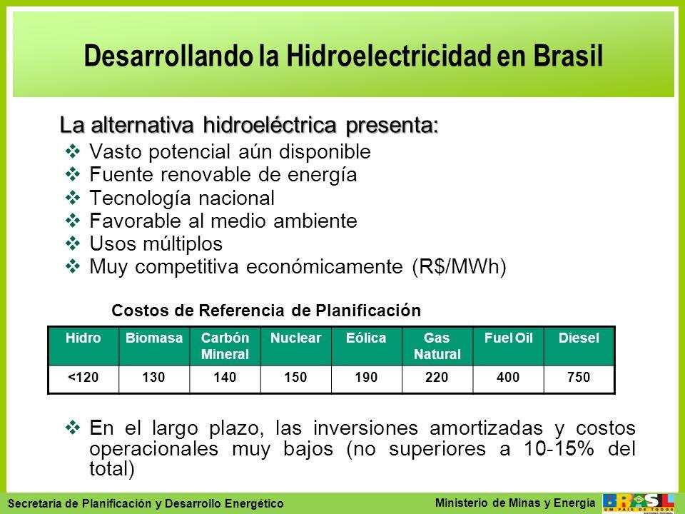 Secretaria de Planejamento e Desenvolvimento Energético - SPE Secretaria de Planificación y Desarrollo Energético Ministerio de Minas y Energía Desarr