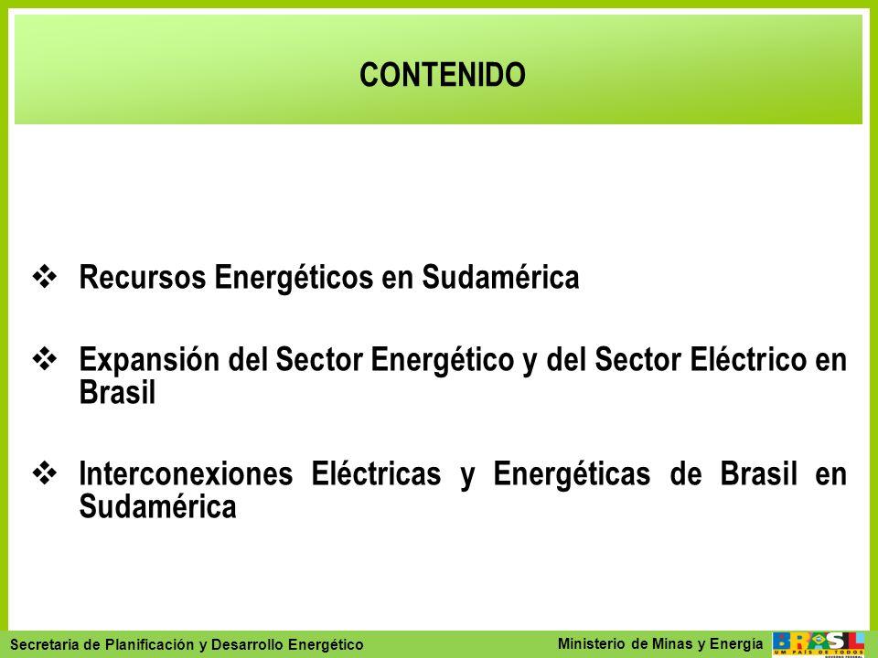 Secretaria de Planejamento e Desenvolvimento Energético - SPE Secretaria de Planificación y Desarrollo Energético Ministerio de Minas y Energía CONTEN