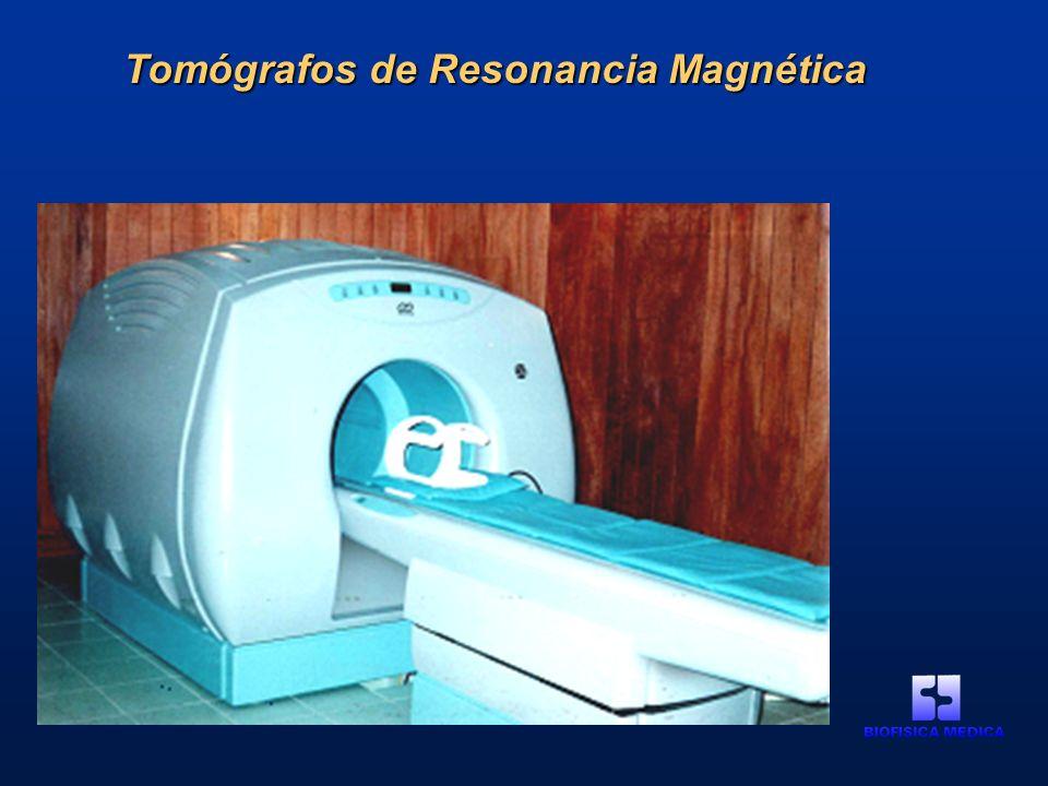 Tomógrafos de Resonancia Magnética