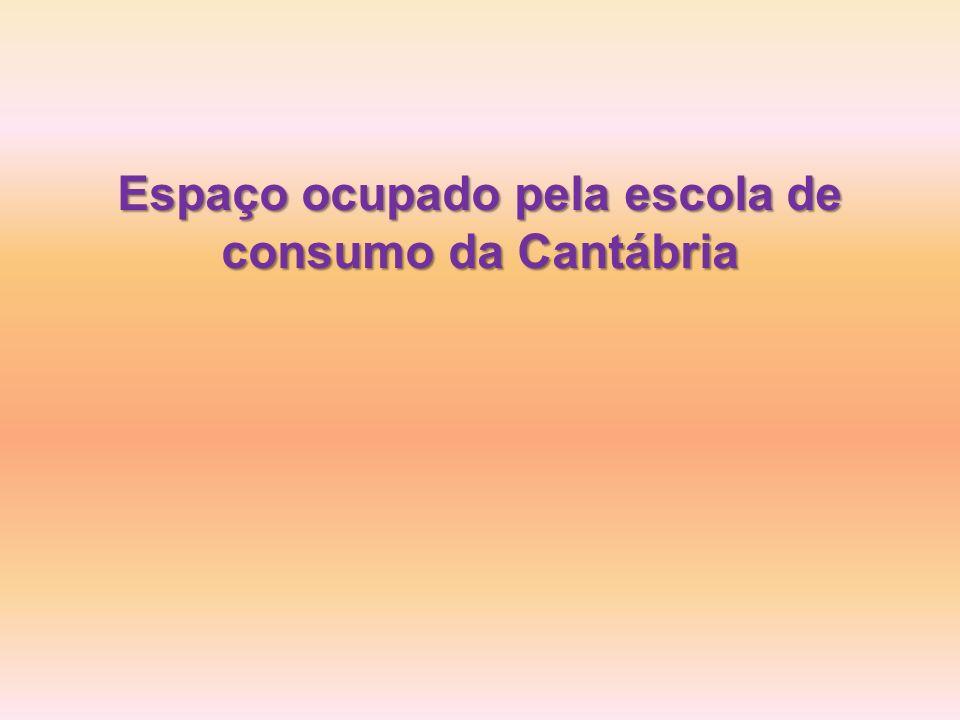 Espaço ocupado pela escola de consumo da Cantábria
