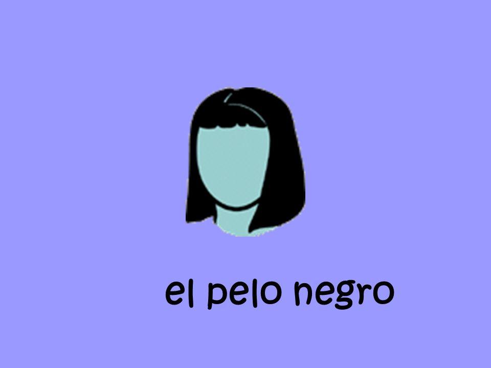 el pelo casta ňo