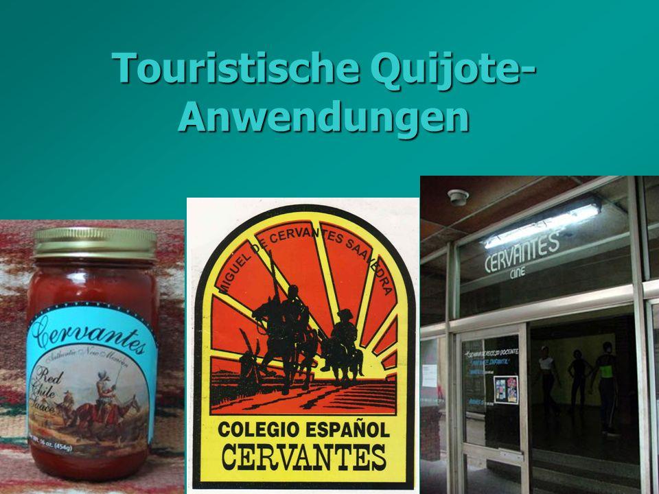 Graz, Mai 2005Erna Pfeiffer Touristische Quijote- Anwendungen