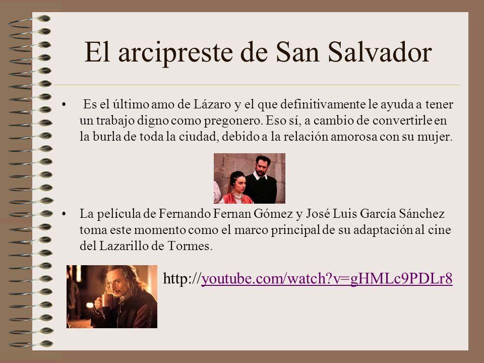 EL CAPELLÁN, EL PINTOR DE PANDEROS Y EL ALGUACIL El Capellán es un oportunista que se aprovecha de las personas para recibir beneficios. Este le ofrec