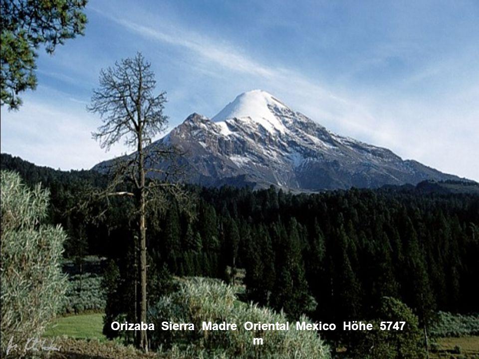 Teotepec Sierra Madre del Sur El Salvador Höhe 4807 m