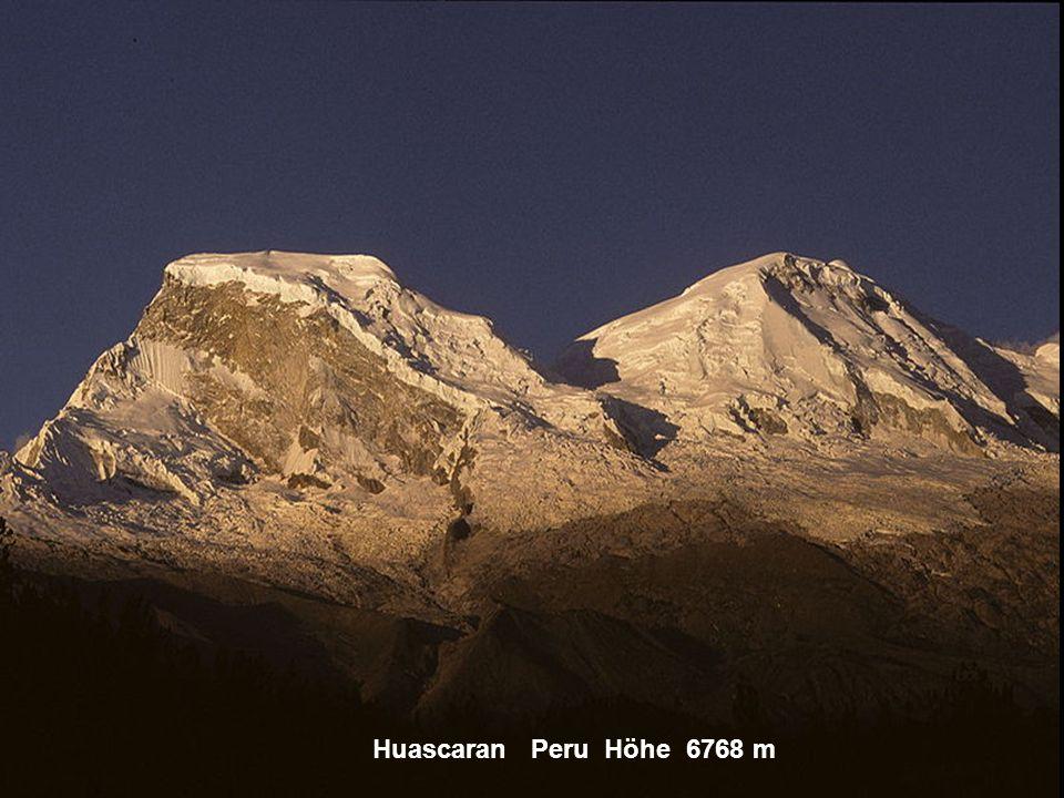 Chimbarazo Ecuador Höhe 6310 m