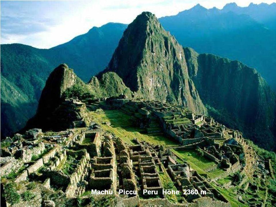Huascaran Peru Höhe 6768 m