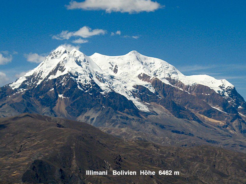 Machu Piccu Peru Höhe 2360 m
