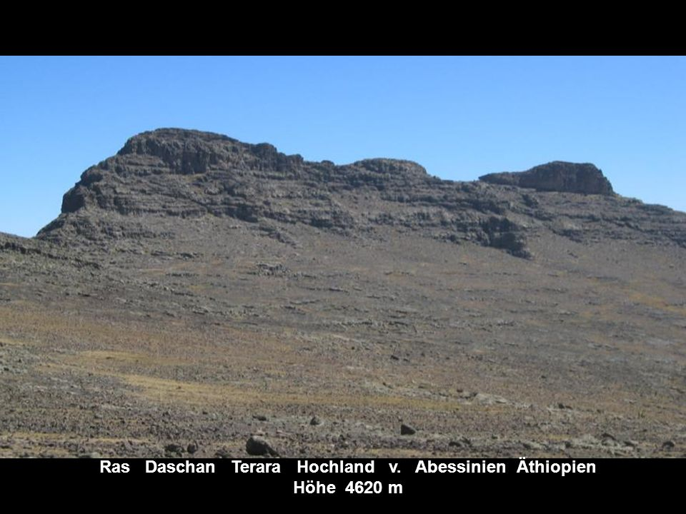 Mount Kenia Kenia Höhe 5200 m