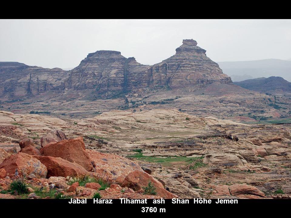 Ras Daschan Terara Hochland v. Abessinien Äthiopien Höhe 4620 m
