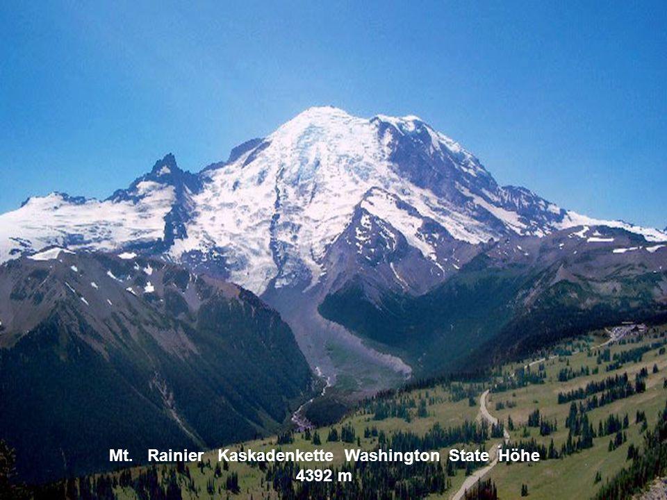Mount McKinley Alaska kette Höhe 6193 m