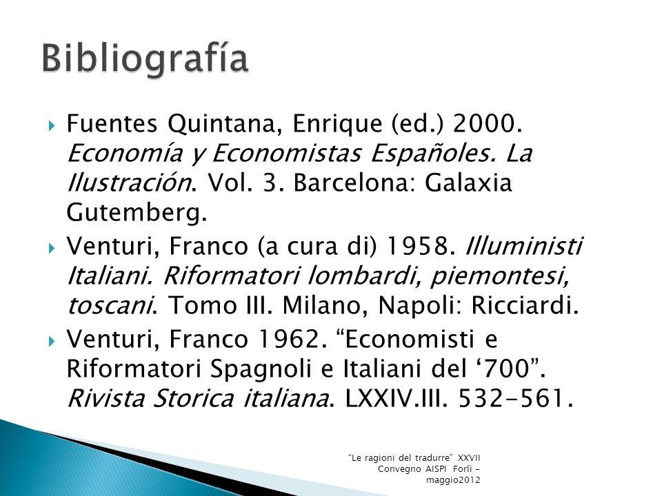 Fuentes Quintana, Enrique (ed.) 2000. Economía y Economistas Españoles.