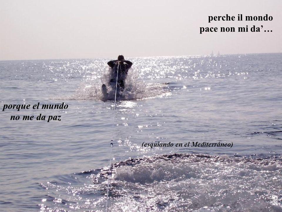 Io cerco Te Tu sei Signore della mia vita, cerco Te … Yo te busco a Ti Tu eres el Señor de mi vida Te busco a Ti… (Panorama desde la colina que consti