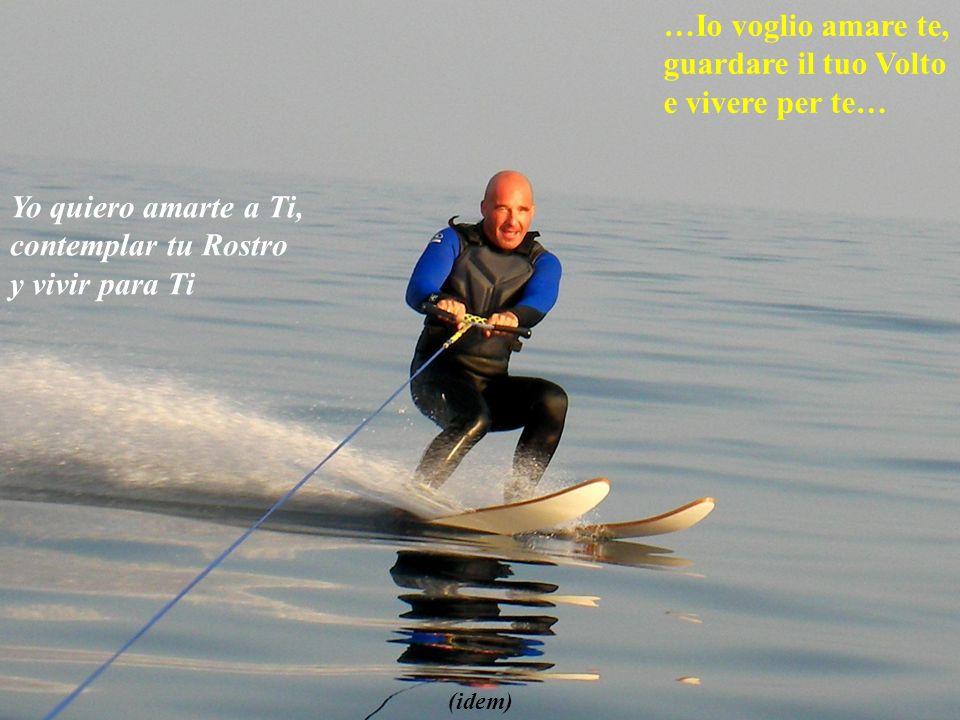 perche il mondo pace non mi da… porque el mundo no me da paz (esquiando en el Mediterráneo)