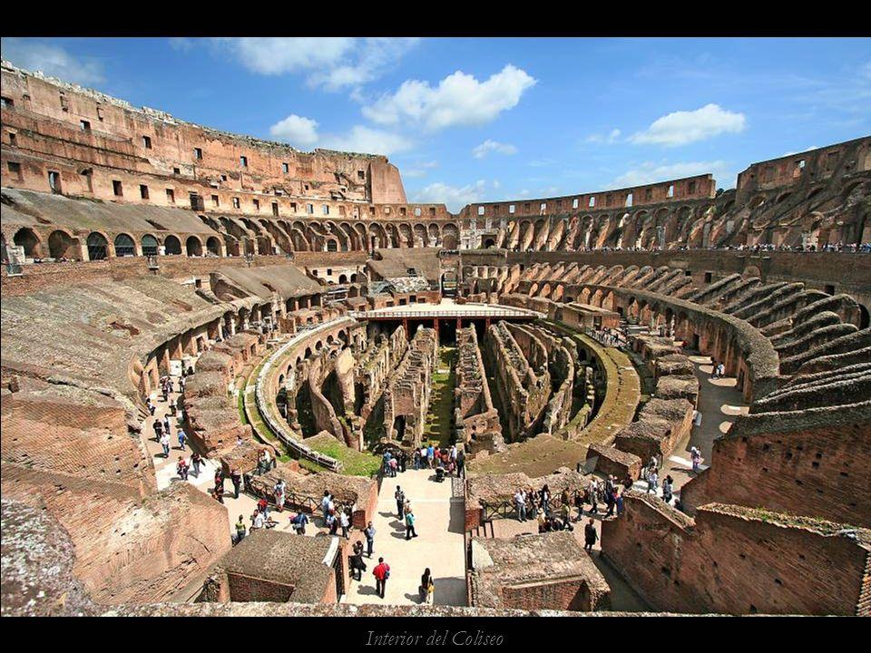 Un pps de Alfonso Galvez www.vitanoblepowerpoints.net Interior del Coliseo