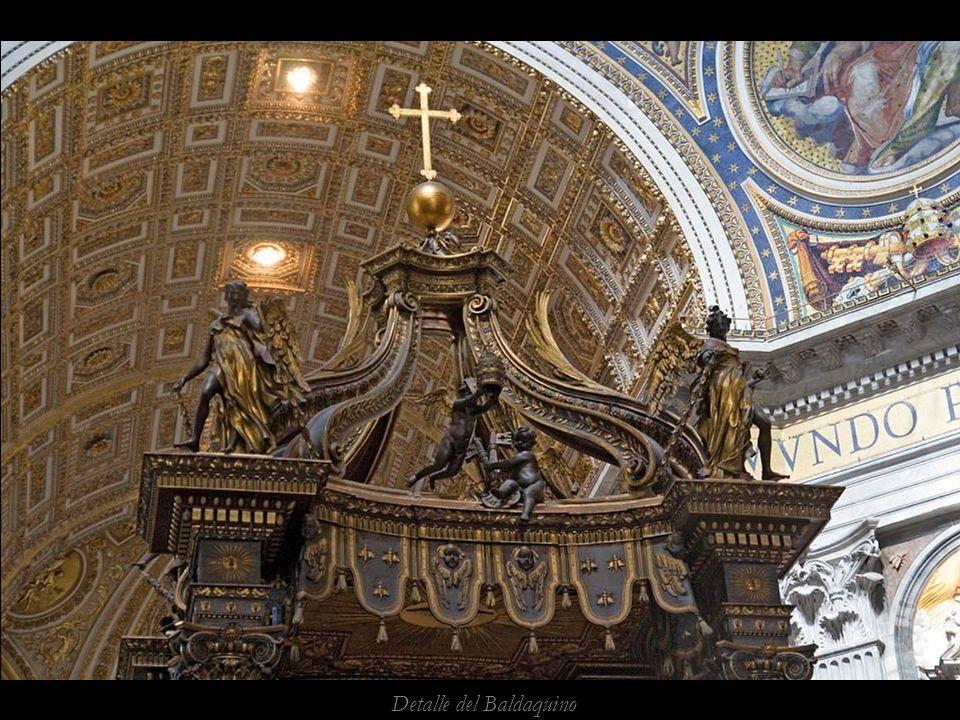 Un pps de Alfonso Galvez www.vitanoblepowerpoints.net Baldaquino de Bernini