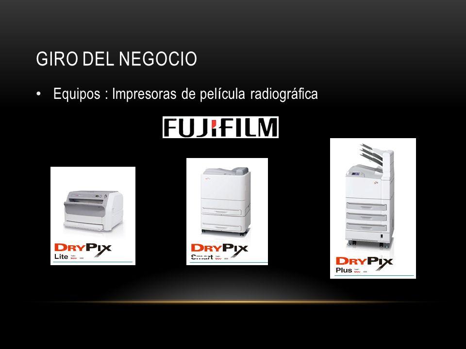 GIRO DEL NEGOCIO Equipos : Rayos x y Digitalizadores de Imagen