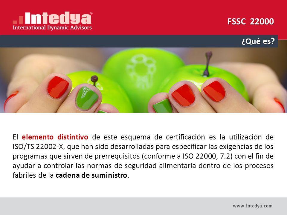 FSSC 22000: Lo NUEVO  Enfoque de la CADENA DE SUMINISTRO basado en las normas ISO.