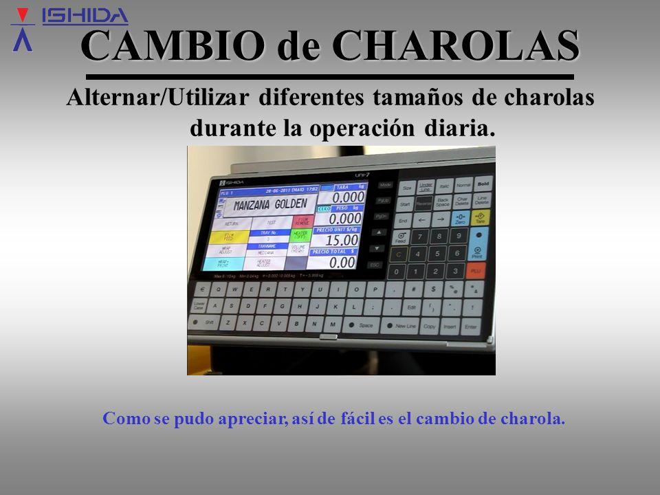 www.tecelectronica.com.mx FIN CAMBIOdeCHAROLAS