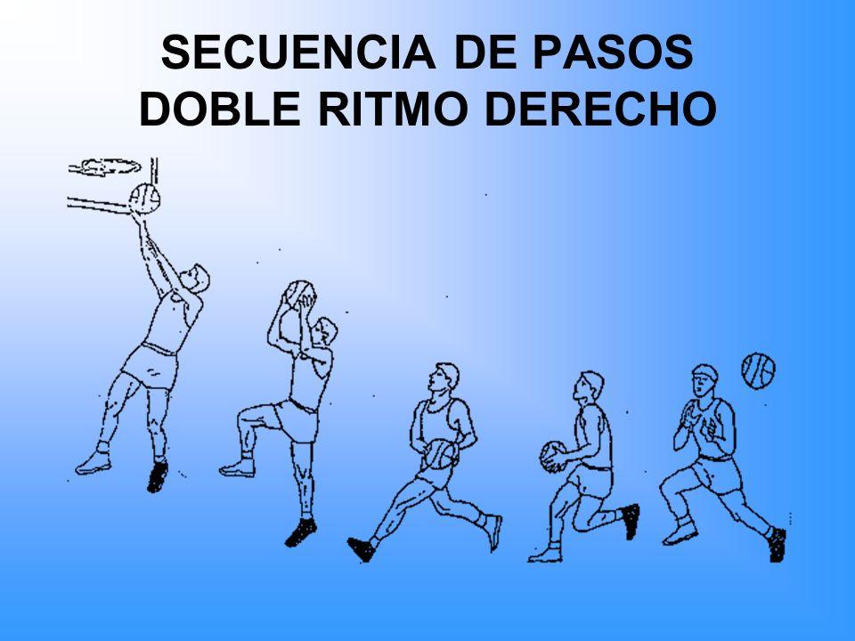 SECUENCIA DE PASOS DOBLE RITMO DERECHO