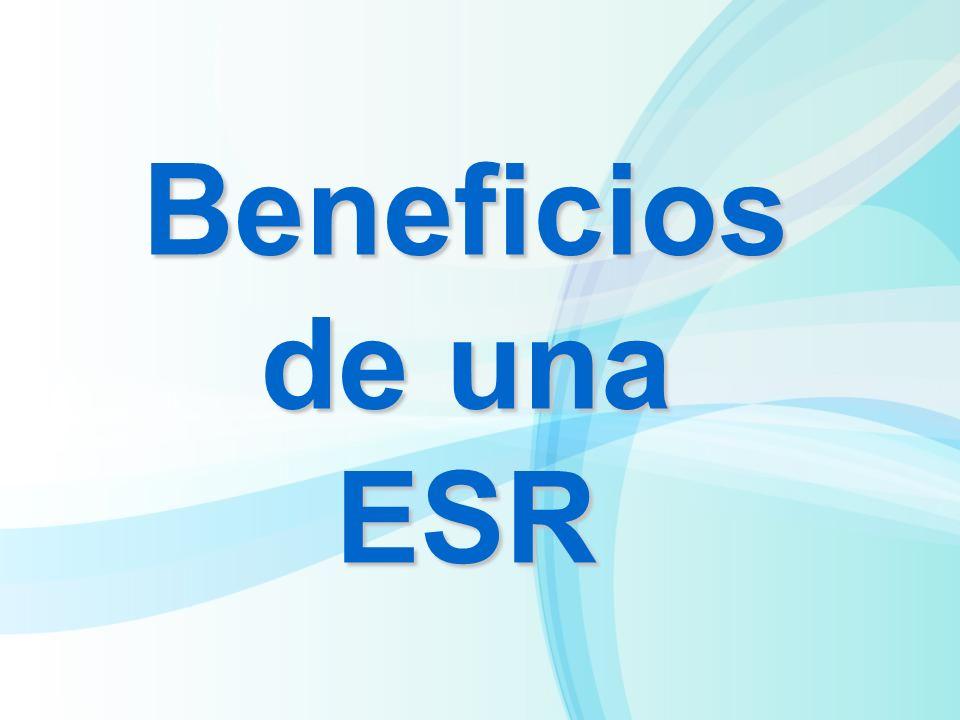 Beneficios de una ESR