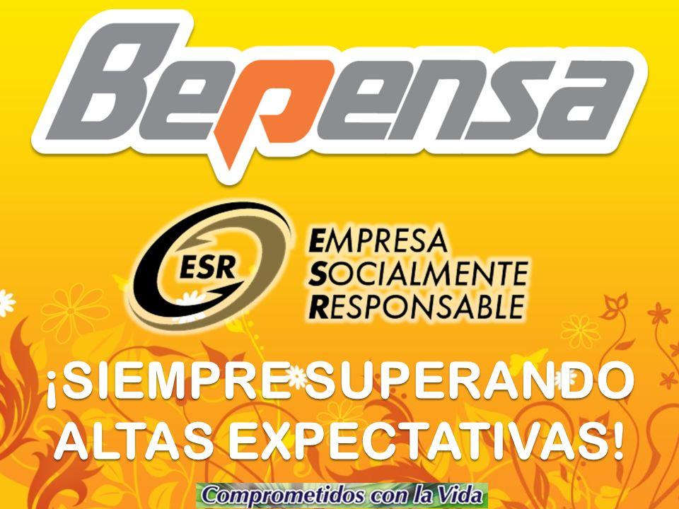 ¡SIEMPRE SUPERANDO ALTAS EXPECTATIVAS!