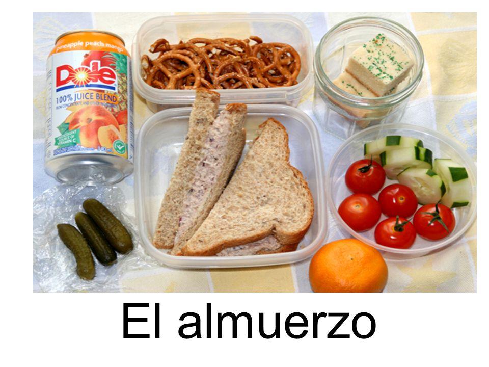 El almuerzo