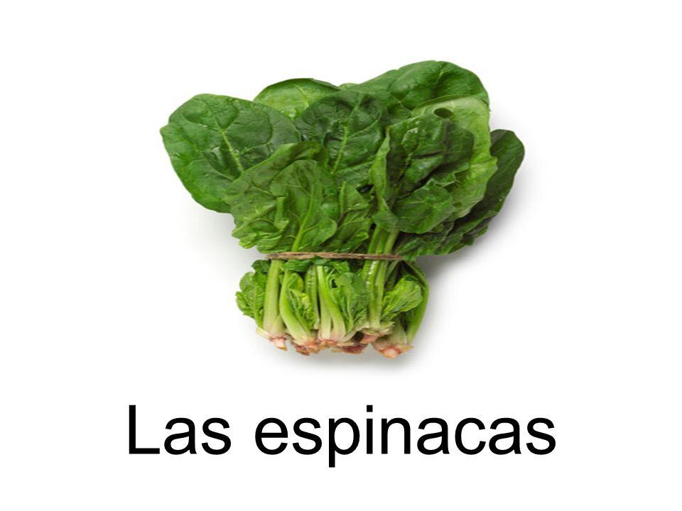 Las espinacas