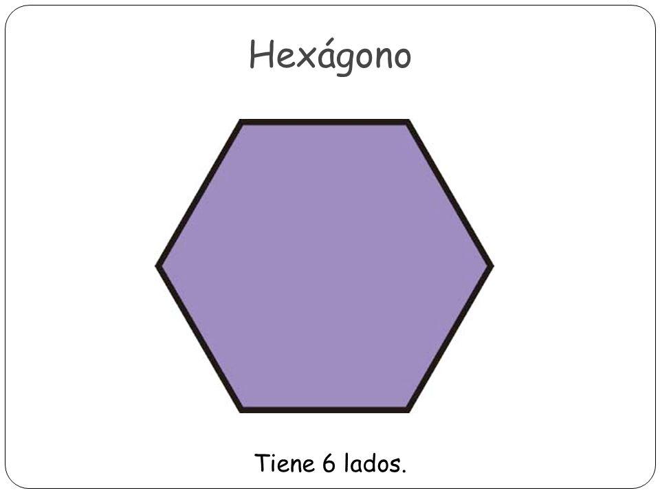 Heptágono Tiene 7 lados.
