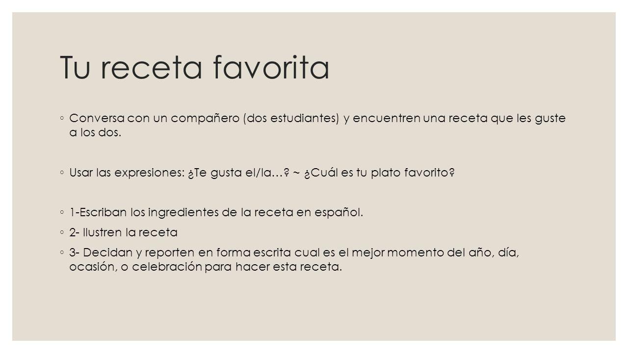 La paella ◦ Una receta típica de España.