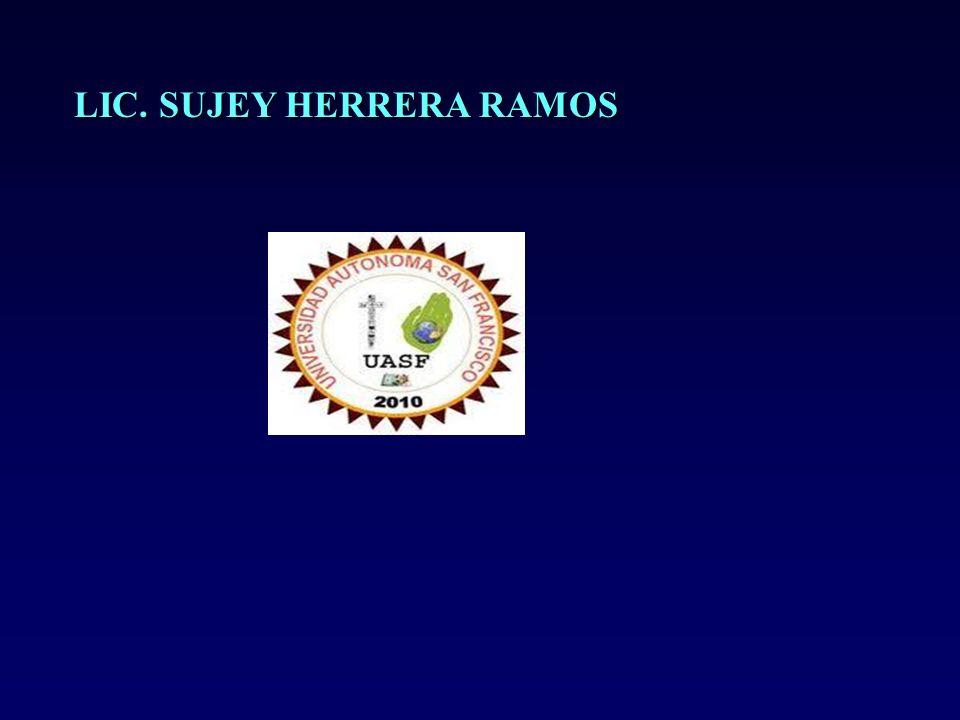 LIC. SUJEY HERRERA RAMOS