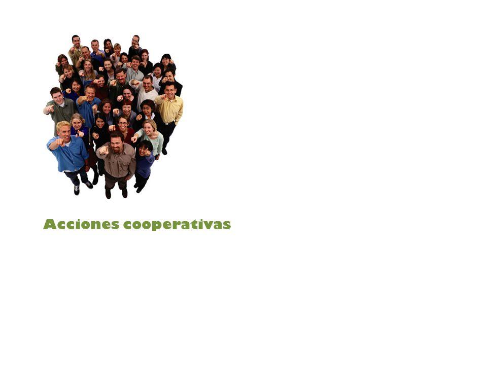 Acciones cooperativas