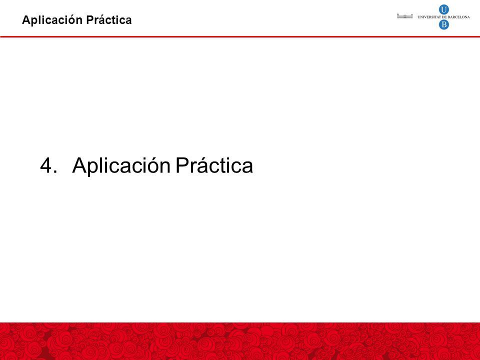 Aplicación Práctica 4.Aplicación Práctica
