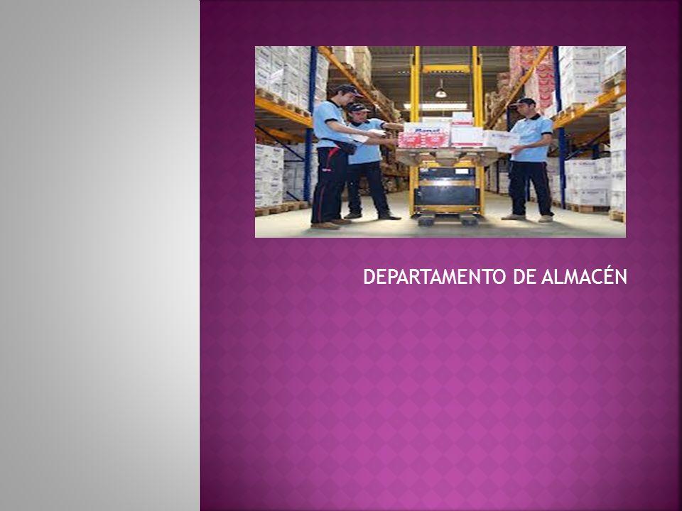 DEPARTAMENTO DE ALMACÉN