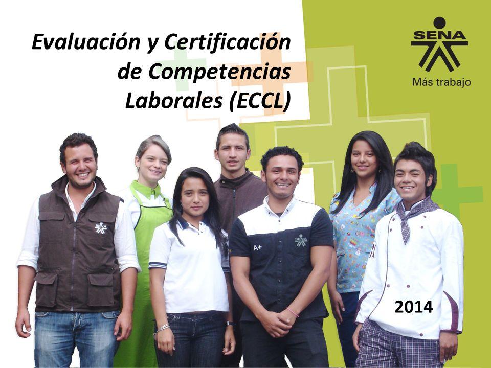 2014 Evaluación y Certificación de Competencias Laborales (ECCL)