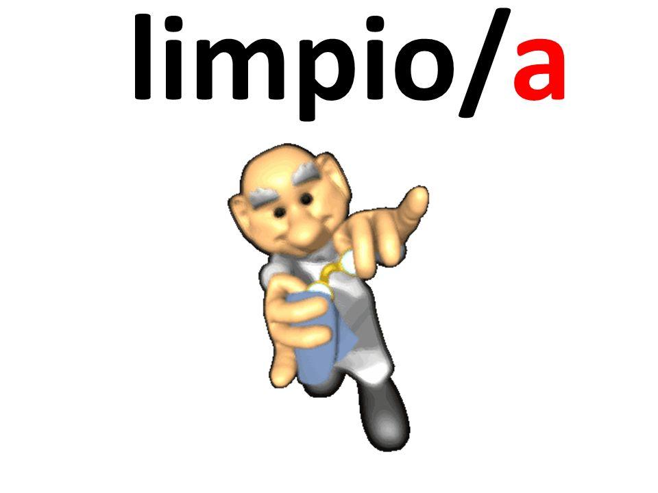limpio/a