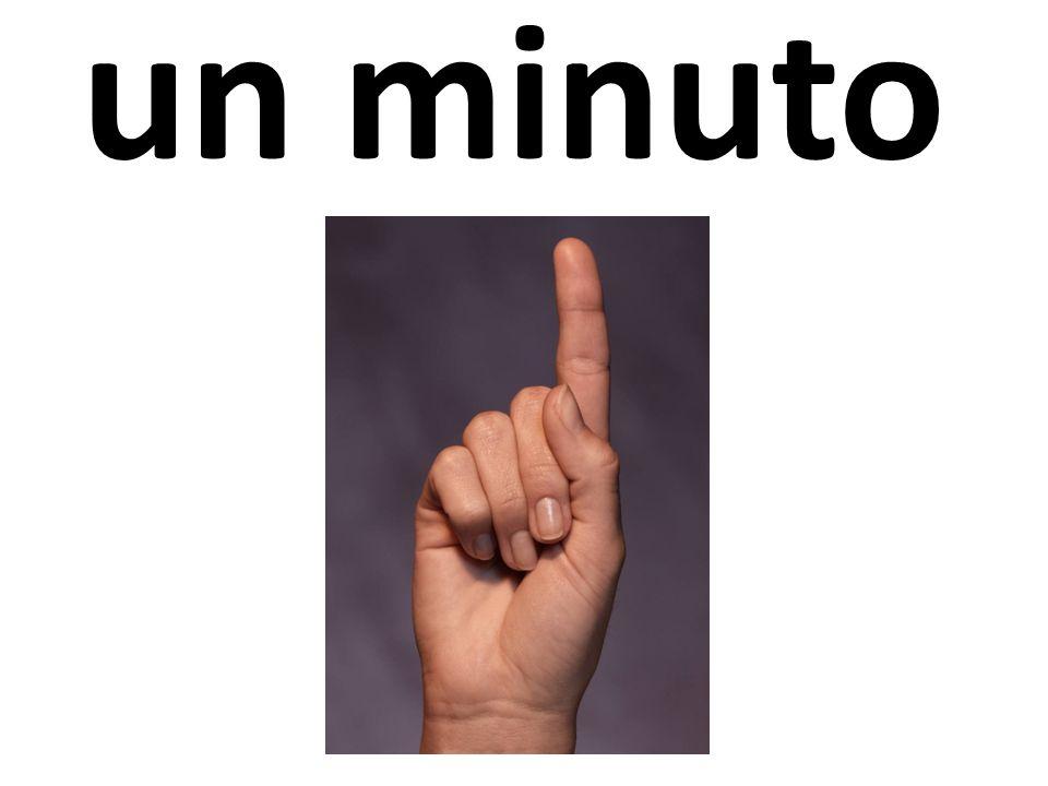 un minuto