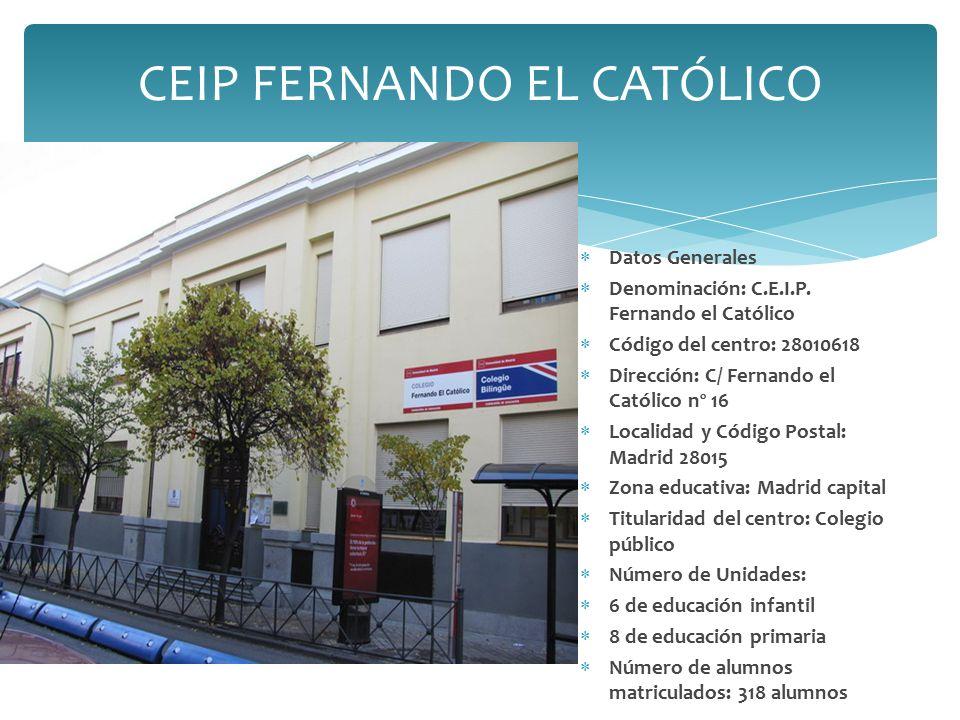  Datos Generales  Denominación: C.E.I.P.