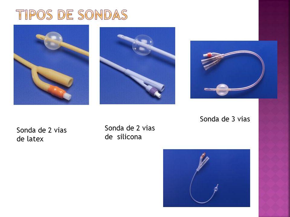 Sonda de 3 vias Sonda de 2 vias de silicona Sonda de 2 vias de latex
