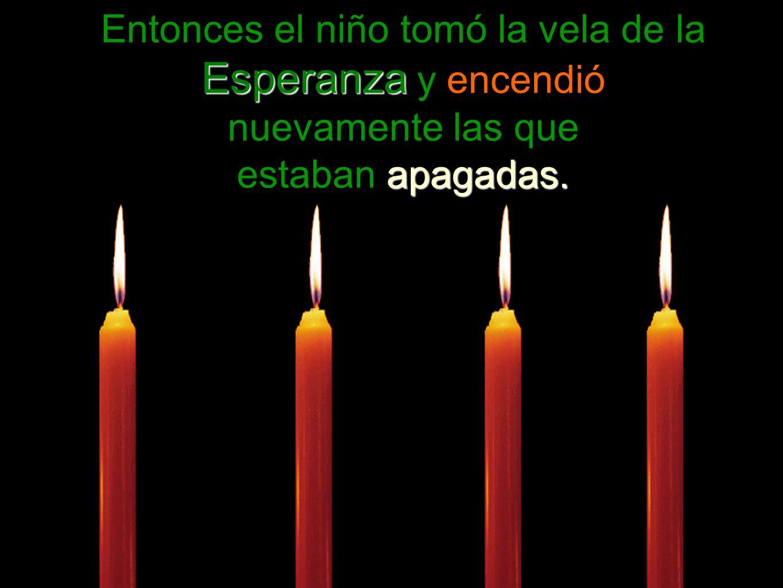 Esperanzaapague Que la vela de la Esperanza nunca se apague dentro de usted.