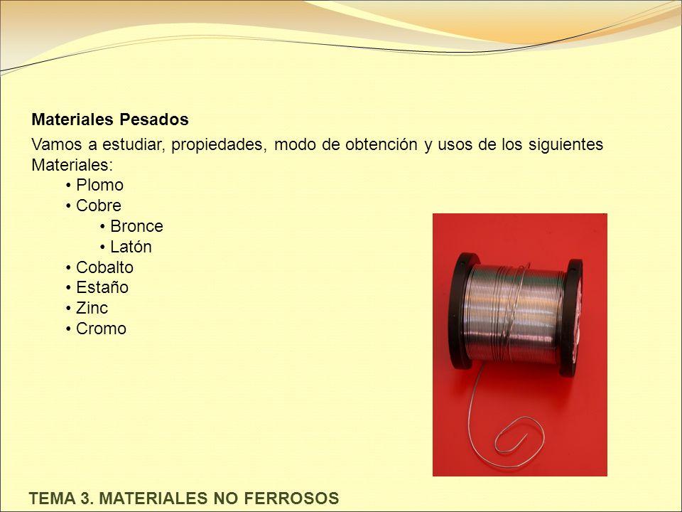 Tema 3 materiales no ferrosos los materiales metlicos no 2 tema 3 materiales no ferrosos urtaz Image collections