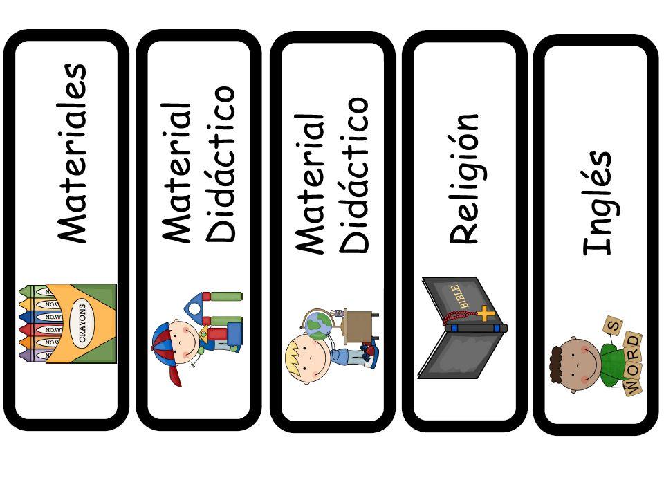 MaterialesMaterial Didáctico Material Didáctico Religión Inglés