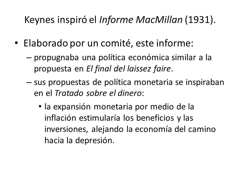 informe politica monetaria: