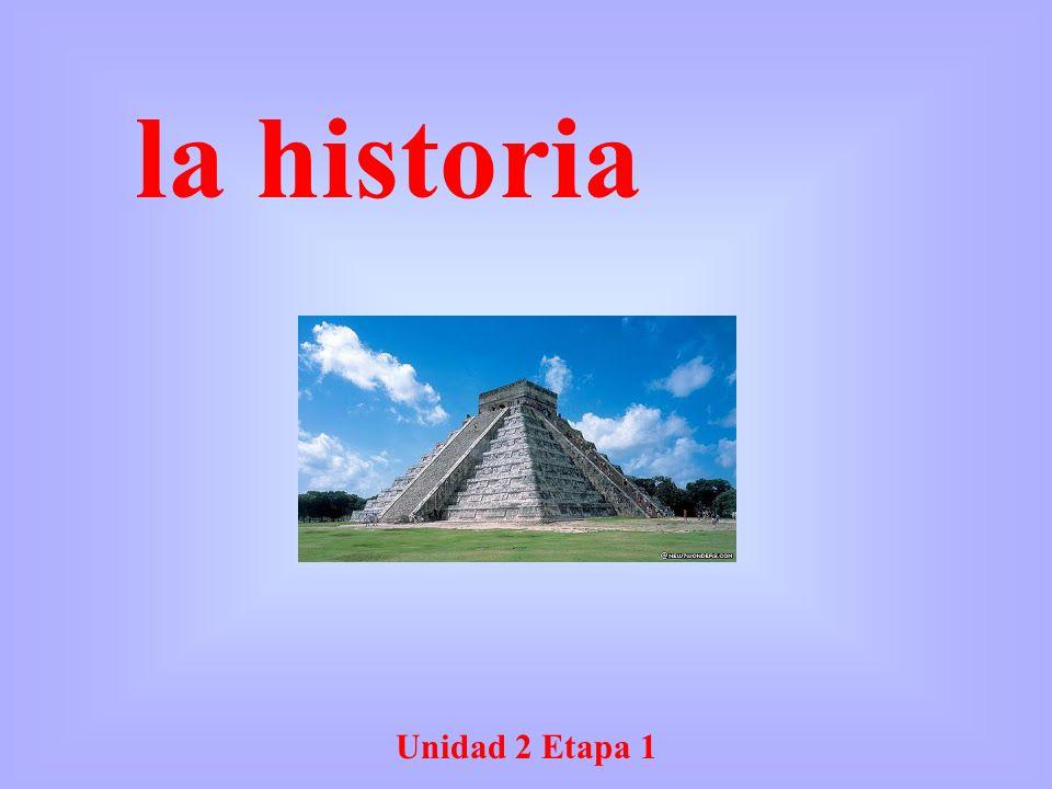 Unidad 2 Etapa 1 la historia