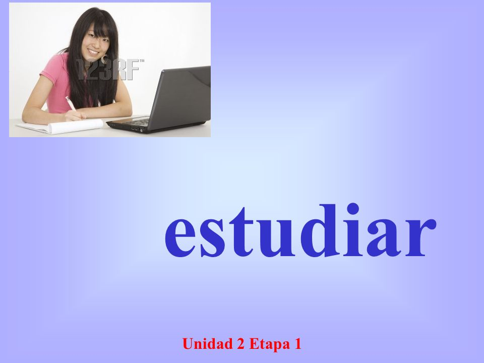 Unidad 2 Etapa 1 estudiar
