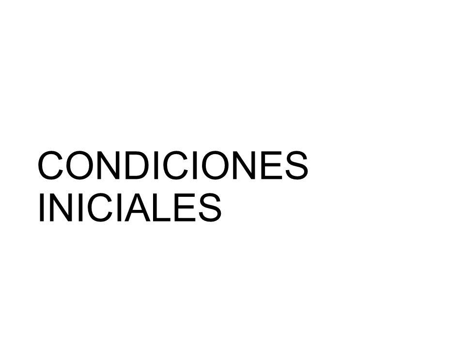 Condiciones iniciales -Empresa familiar con 27 años de antigüedad.