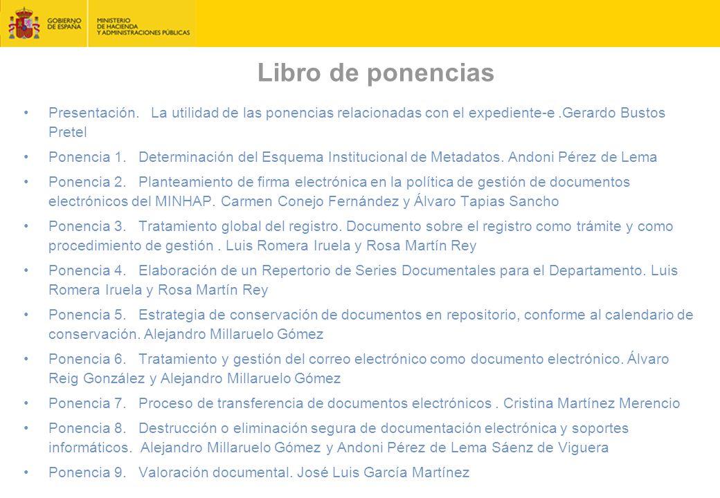 Libro de ponencias Presentación.