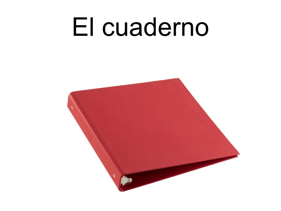 El cuaderno