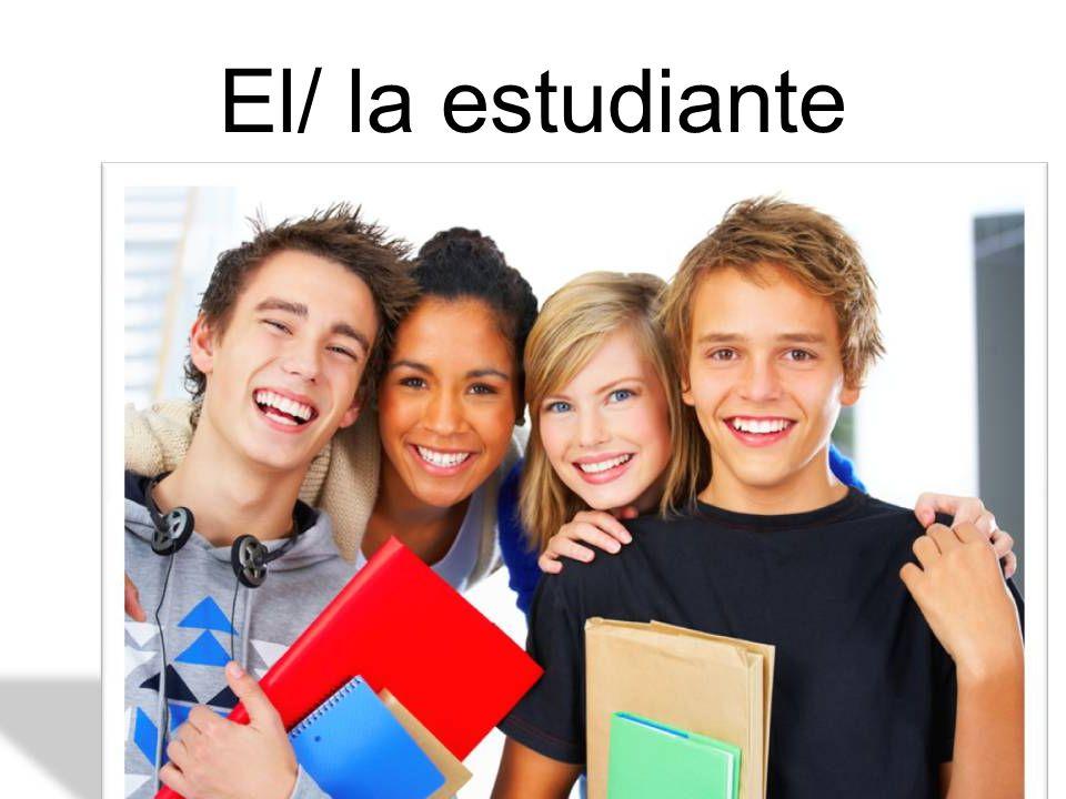 El/ la estudiante